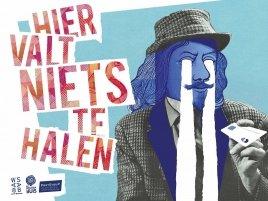 Student Muziektheater Mette Oskamp speelt in 'Hier valt niets te halen' van muziektheatergezelschap Het Houten Huis