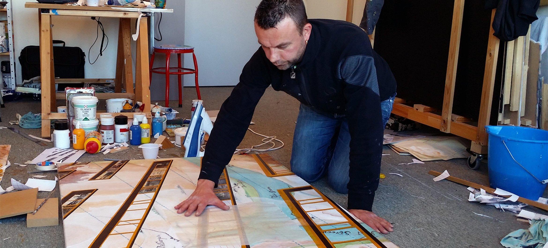 Alumnus Marcel Blom maakte aan het werk voor het Gelders Archief