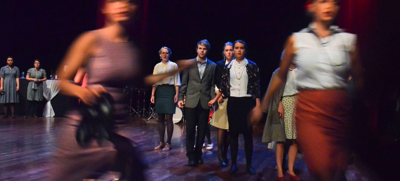 Music Theatre's show 'Niks aan de hand'.