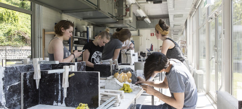 In Arnhem zijn veel gespecialiseerde werkplaatsen en labs