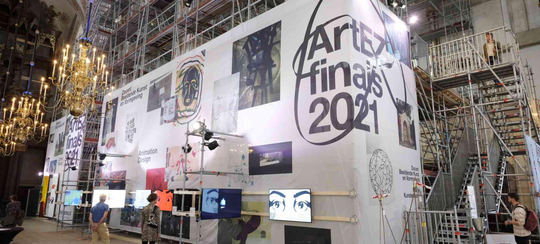 Finals expositie Art & Design Zwolle in Grote Kerk