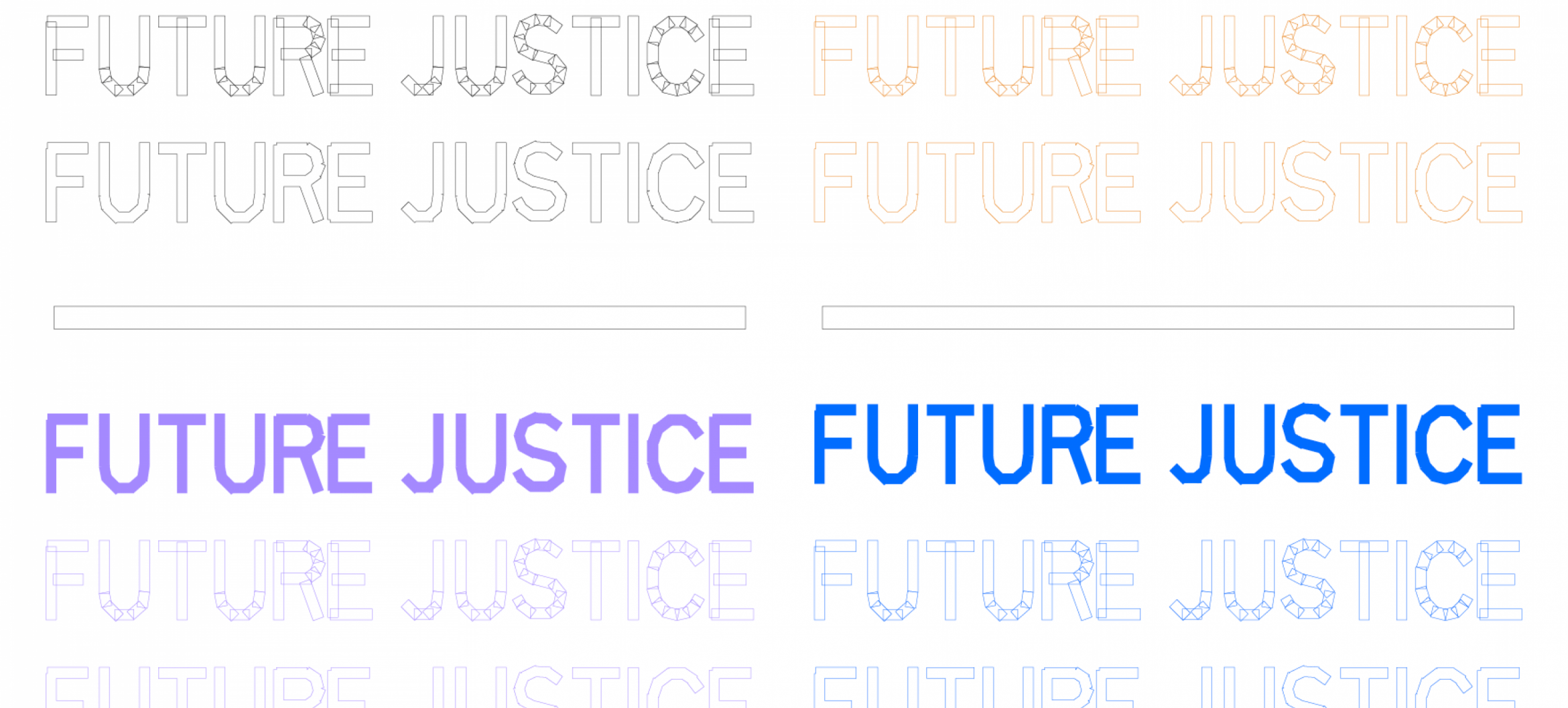 Future Justice: An inquiry into the way things are, were, should be