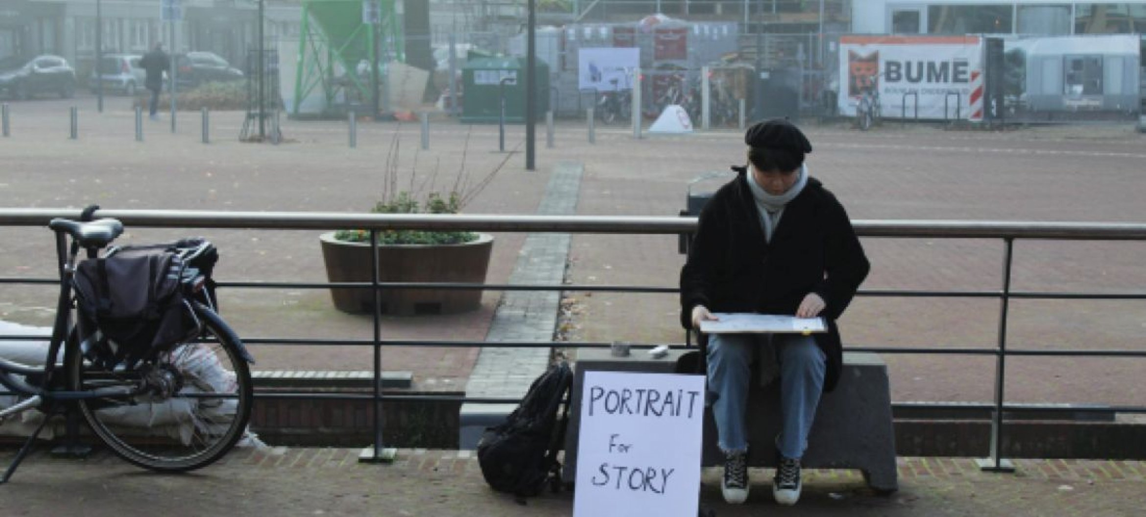 At ArtEZ, Rebecca Gomperts mentored  iMAE student Fangyu Jiang during her project 'Portrait for Story'