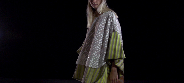 Fashion Design student Johanna Bas Backer