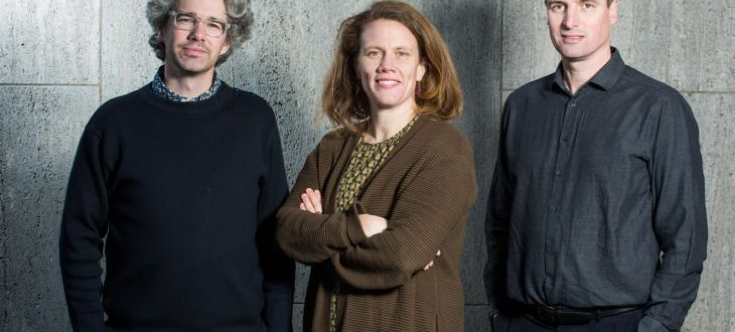 v.l.n.r: Floris Cornelisse, Ninke Happel en Paul Verhoeven