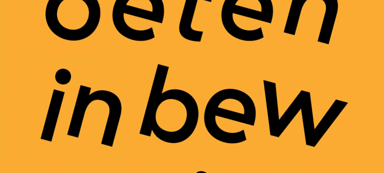 VERWACHT: publicatie Ontmoeten in beweging