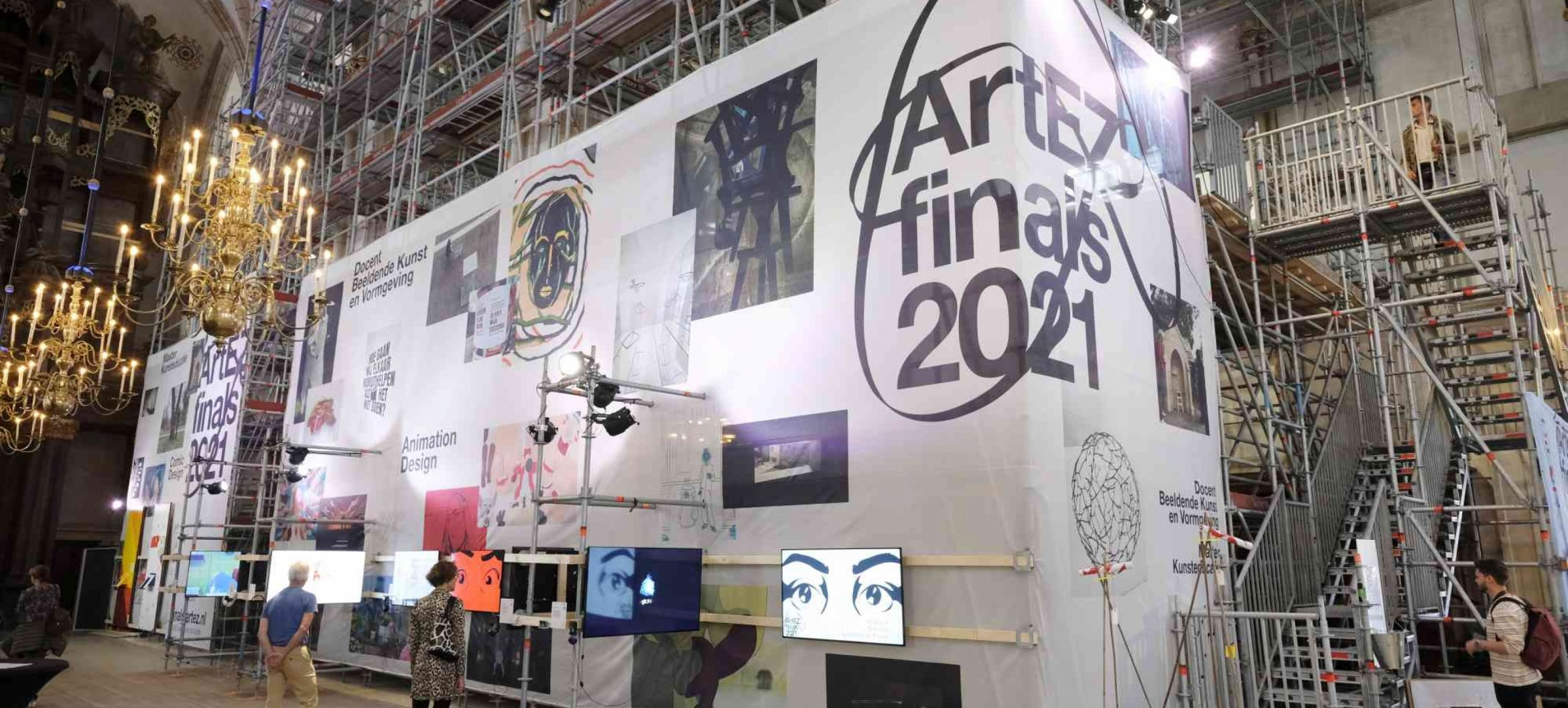 Experience the finals exhibition Art & Design in Grote Kerk, Zwolle