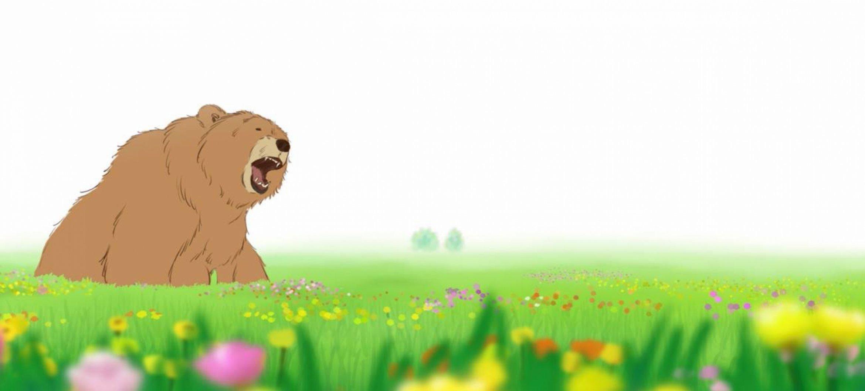 Ik zag twee beren animeren: een natuurfilm uit de computer