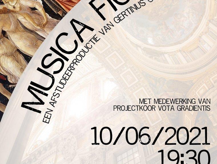 'Musica Ficta'. Gertinus Oostra, student Docent Muziek