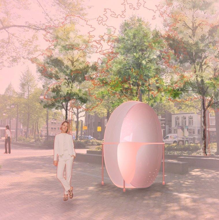 Eindexamenwerk van Frederieke Hakman  - student Interieurarchitectuur (IN__architectuur Bachelor) Zwolle