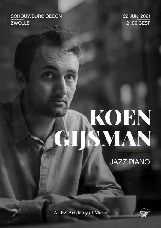 Koen Gijsman, piano Jazz & Pop