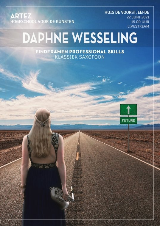 Daphne Wesseling, saxofoon Klassieke Muziek