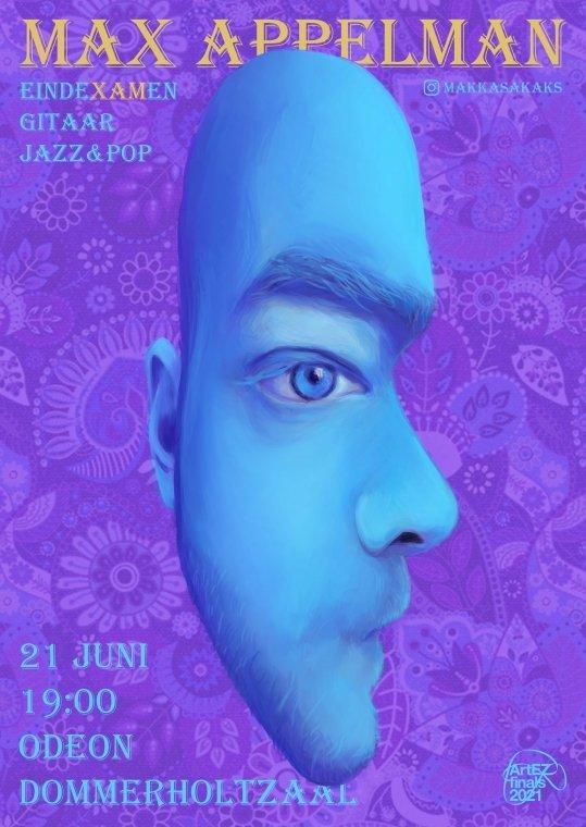 Max Appelman,  gitaar Jazz & Pop