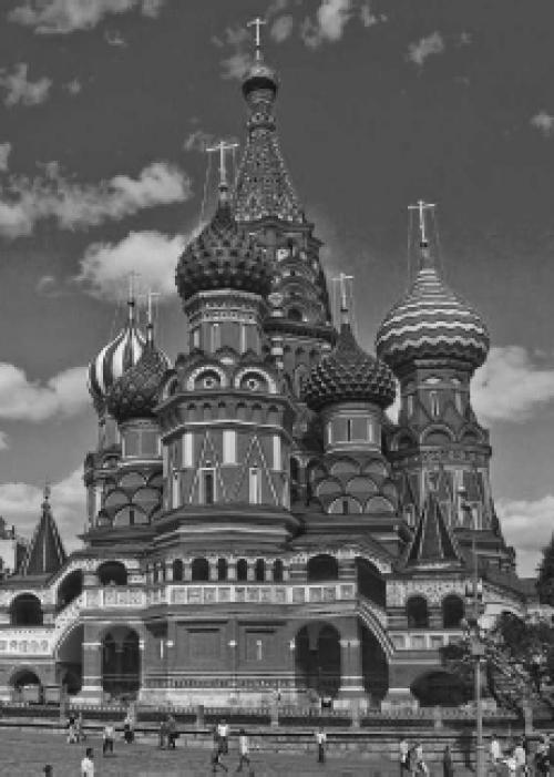 Excursiegids Moskou 2012