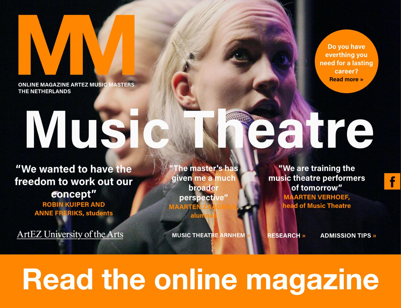 Music Theatre | ArtEZ